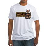 Free Tony The Tiger Fitted T-Shirt