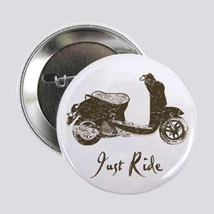 """Just Scoot 2.25"""" Button"""