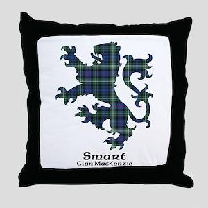 Lion-Smart.MacKenzie Throw Pillow