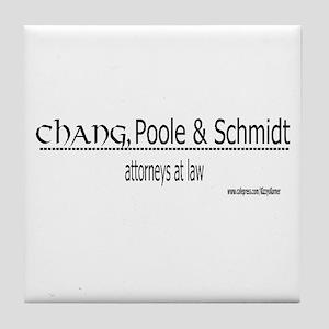 CHANGPOOLESCHMIDT Tile Coaster