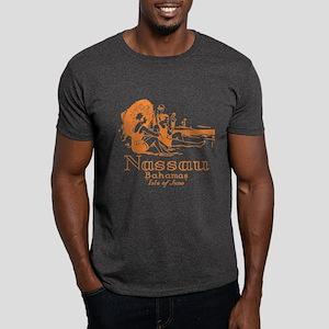 Bahamas Vintage Ad Dark T-Shirt