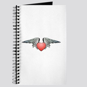Angel Winged Heart Journal
