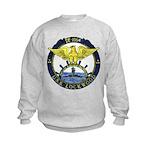 USS LOCKWOOD Kids Sweatshirt
