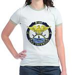 USS LOCKWOOD Jr. Ringer T-Shirt