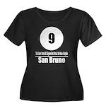 9 San Bruno (Classic) Women's Plus Size Scoop Neck