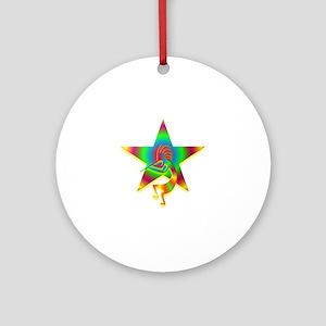 One Kokopelli #35 Ornament (Round)