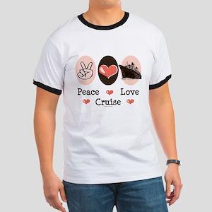 Peace Love Cruise Ringer T