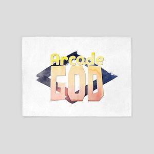 Arcade God 5'x7'Area Rug