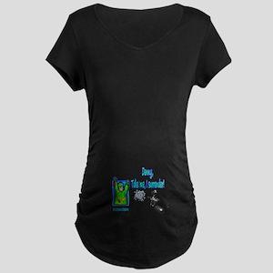 DENNYPAINT1 Maternity Dark T-Shirt