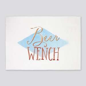 Beer Wench 5'x7'Area Rug