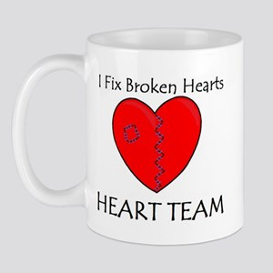 Heart Team Mug
