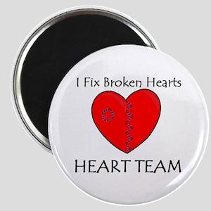 Heart Team Magnet