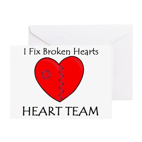 Heart Team Greeting Card