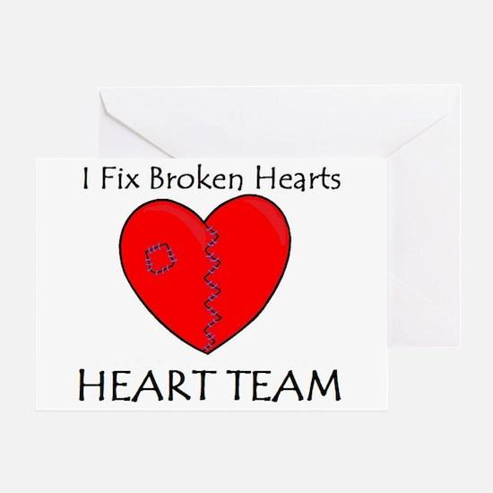 Heart Team Greeting Card