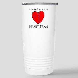Heart Team Stainless Steel Travel Mug