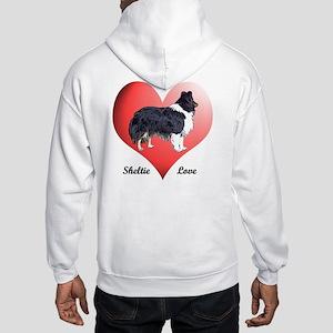 Sheltie Love Hooded Sweatshirt