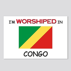 I'm Worshiped In CONGO Postcards (Package of 8)