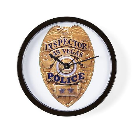 Las Vegas PD Inspector Wall Clock
