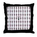 I am NOT a Corporate Clone. Throw Pillow