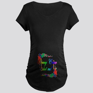 DENNYPAINT2 Maternity Dark T-Shirt
