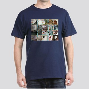 Twenty Pigeon Heads Dark T-Shirt