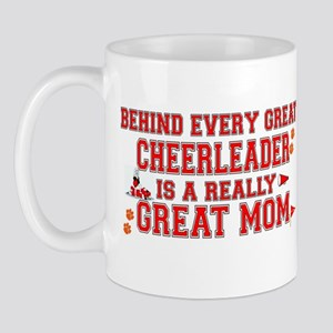 Great Cheerleader Mom Mugs