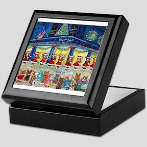 A Christmas Corgi Spectacular Keepsake Box