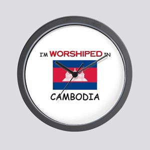 I'm Worshiped In CAMBODIA Wall Clock