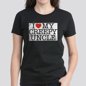 I Love My Creepy Uncle Women's Dark T-Shirt