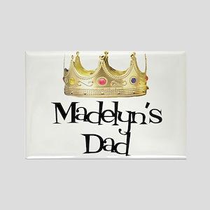 Madelyn's Dad Rectangle Magnet