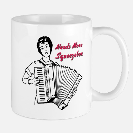 Cute Accordian Mug