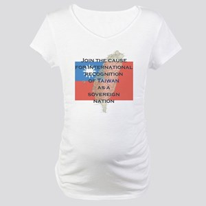 Sovereign Taiwan Maternity T-Shirt