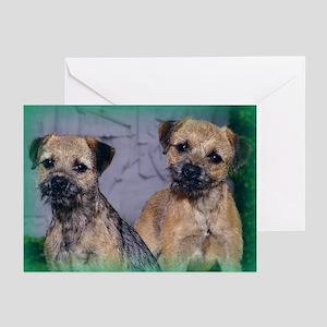 Border (Patrol) Terrier Greeting Cards (Package of