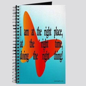 Right Place Affirmation Journal