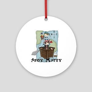 Pirate Adventures Ornament (Round)
