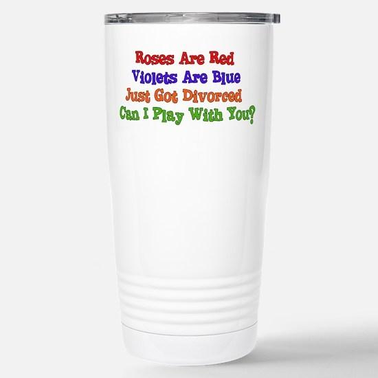 Divorced Neighbor Stainless Steel Travel Mug