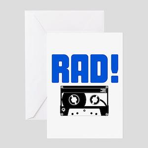 Rad Tape Greeting Card