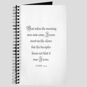 JOHN 21:4 Journal