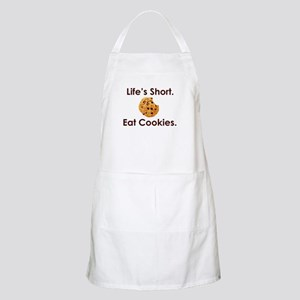 Life's Short. Eat Cookies. BBQ Apron