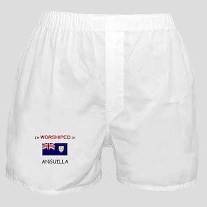 I'm Worshiped In ANGUILLA Boxer Shorts