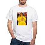 Breton Woman Praying White T-Shirt
