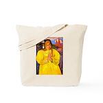 Breton Woman Praying Tote Bag