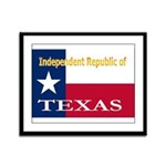 Texas-4 Framed Panel Print