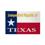 Texas-4 Rectangle Magnet (100 pack)