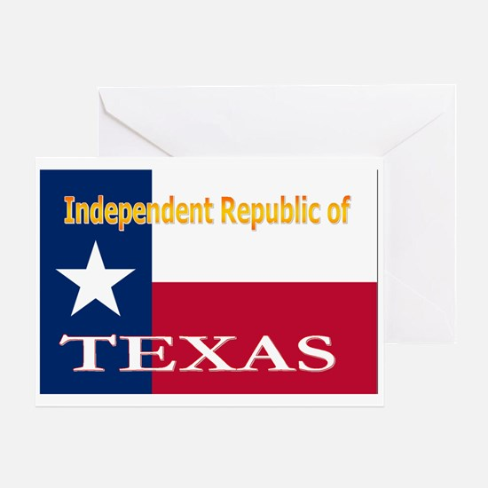 Texas-4 Greeting Card