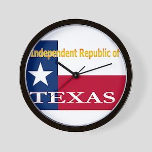 Texas-4 Wall Clock