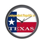Texas-4 Wall Clock