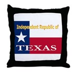 Texas-4 Throw Pillow