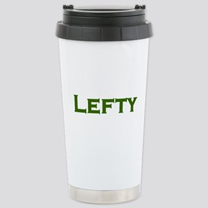 LEFTY Southpaw or Liberal Stainless Steel Travel M