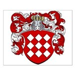 Joosten Family Crest Small Poster